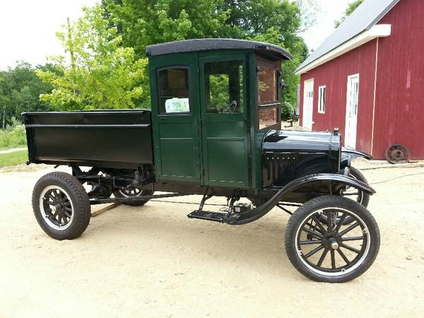 1925 Ford Model T: Dump Truck Find