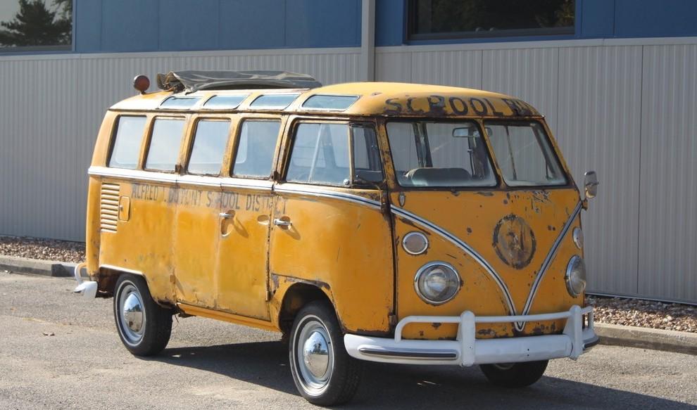 1964 Volkswagen Bus Cool School