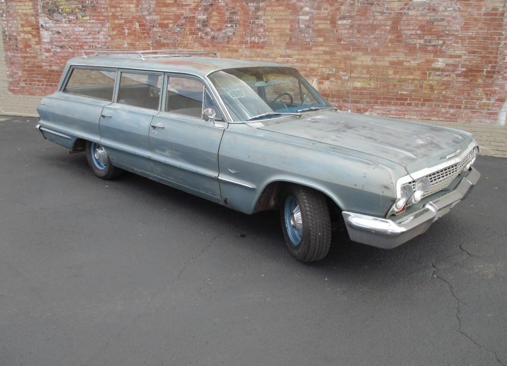 Big Ol U0026 39  Wagon  1963 Chevrolet Bel Air