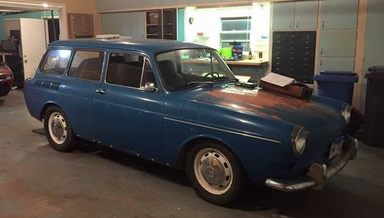 1972 VW Squareback Project For $950!