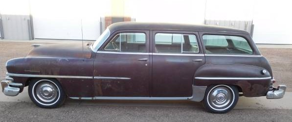 1953 Chrysler New Yorker Town & Country Station Wagon Left Side