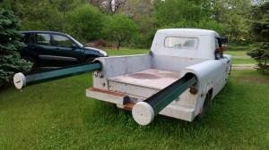 Rare 1956 Powell Pickup