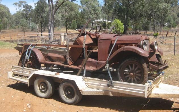 1927 Chevrolet at Tambar Springs