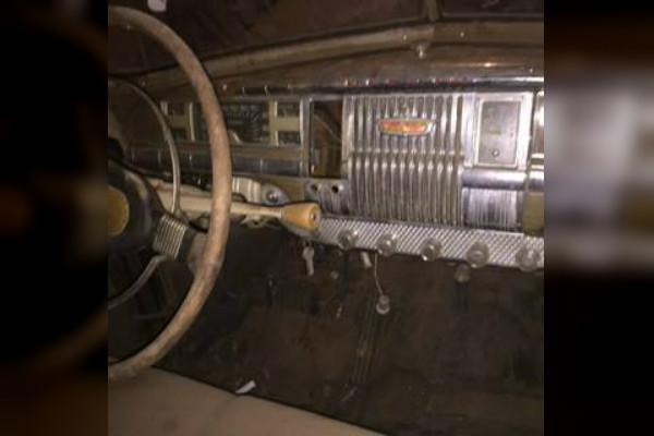 1948 DeSoto Club Coupe Interior