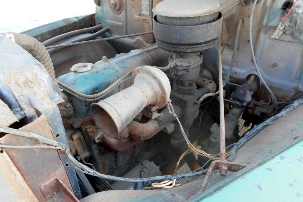 1951 Chevrolet Truck Engine take you higher 1951 chevy ladder truck