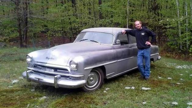 1954 Chrysler Windsor Deluxe