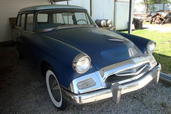 Ambulance For Sale >> Right Number Of Doors: 1955 Studebaker Wagon