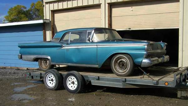 1959 Ford Galaxie Skyliner Project