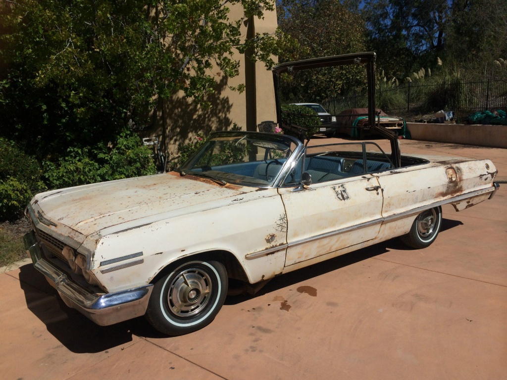 Drop Top Fun: 1963 Impala SS Convertible