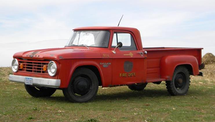 Fire Fighter 1965 Dodge D200