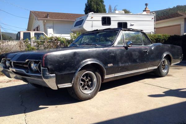 Two For One Oldsmobile Cutlass 442 Convertible