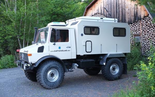 Expedition Camper 1982 Unimog 1300l