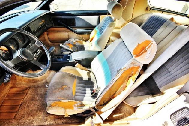 1985 Pontiac Trans AM Interior