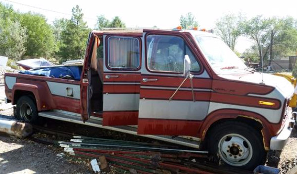 One Of How Many Ford Van Conversion