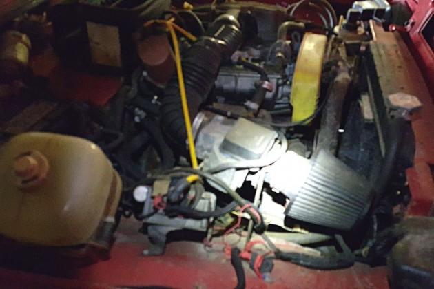 1992 Lada Niva Engine