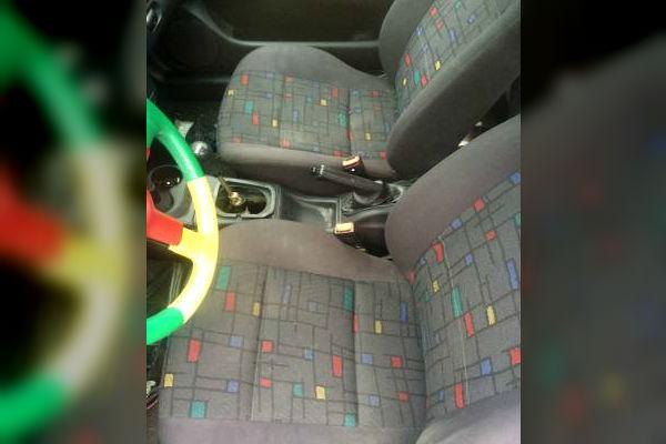 1996 VW Harlequin Golf Interior