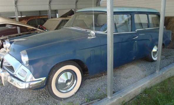 '55 Stude Wagon left side