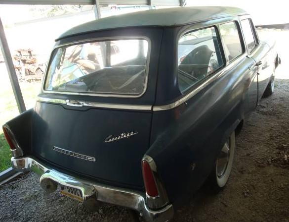 '55 Stude Wagon rear