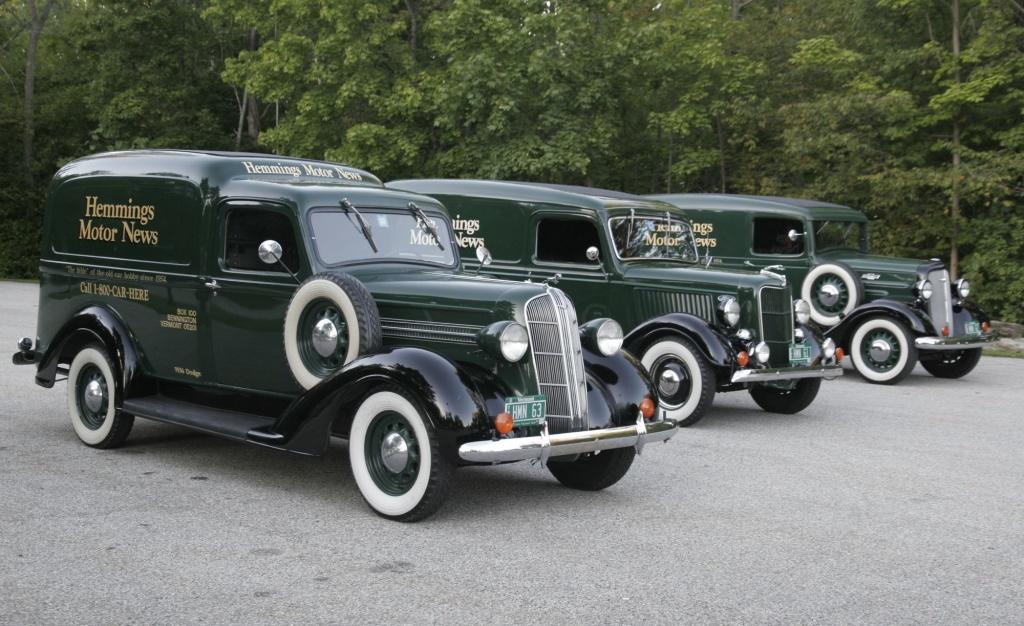 Humpback 1933 Dodge Sedan Delivery