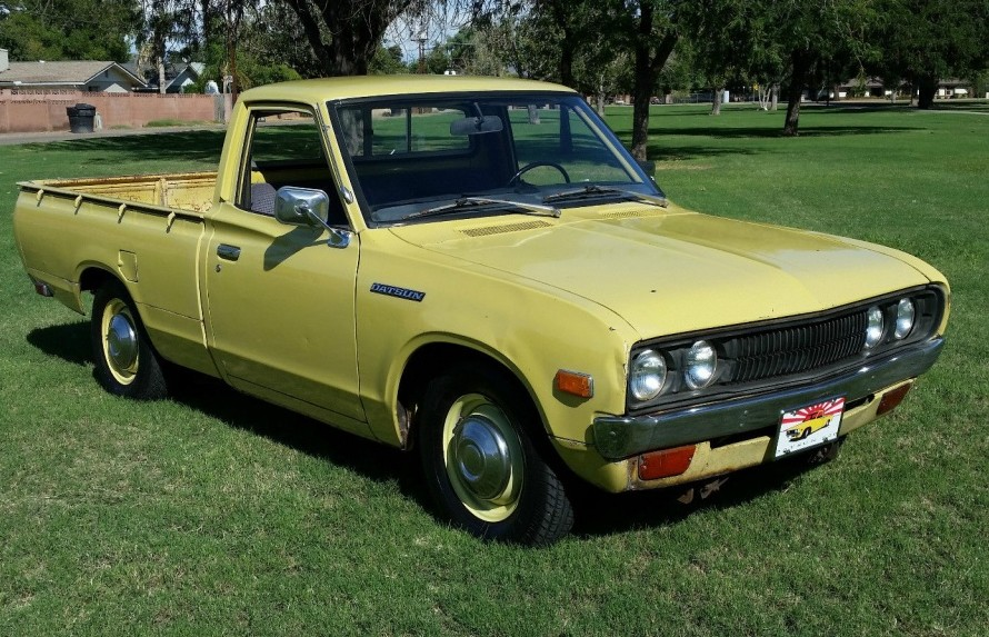 another 620 1976 datsun pickup. Black Bedroom Furniture Sets. Home Design Ideas