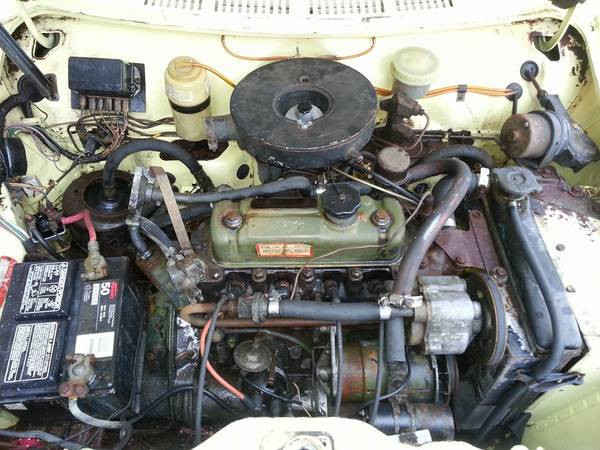 '69 Austin American engine