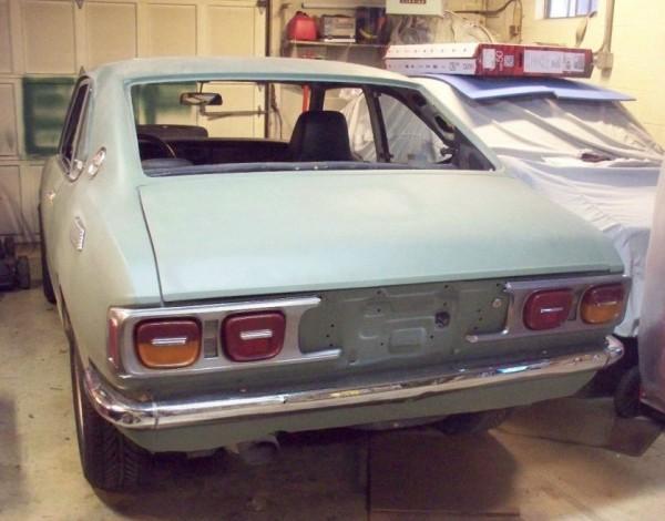 '72 Corolla rear