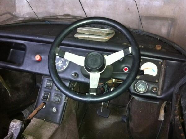 '75 Enfield 8000 dash