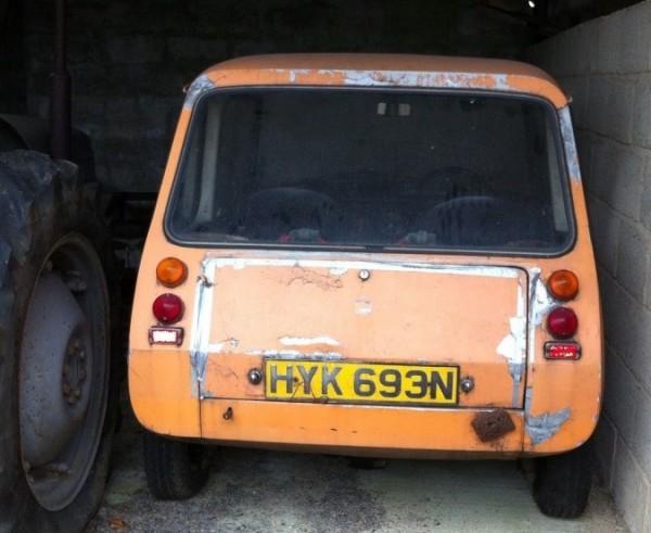 '75 Enfield 8000 rear