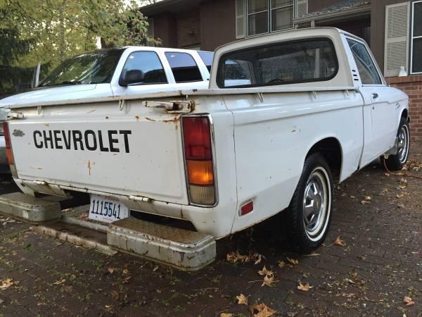 '78 LUV right rear