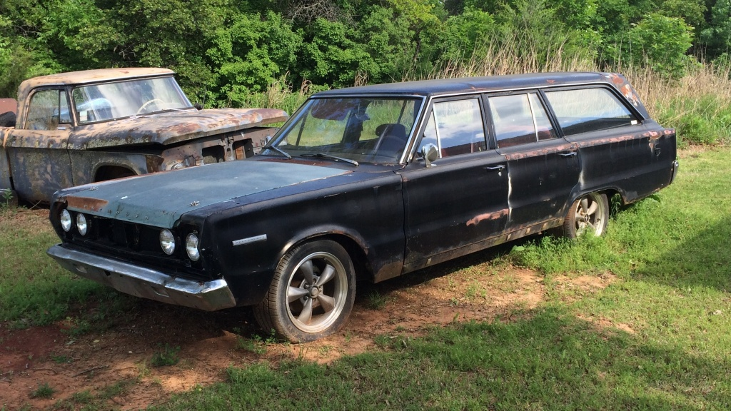 BF Exclusive: 1967 Plymouth Belvedere Wagon