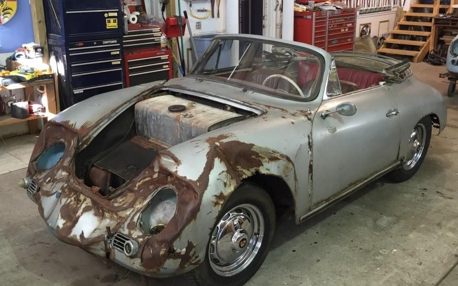 1959 Porsche 356 A Cabriolet Project