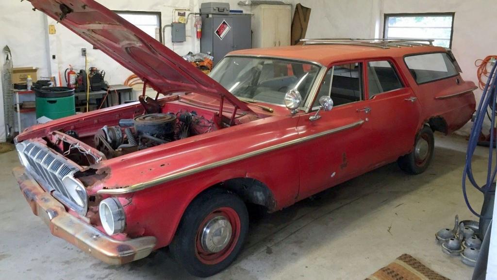 Fire Chief Wagon 1962 Dodge Dart