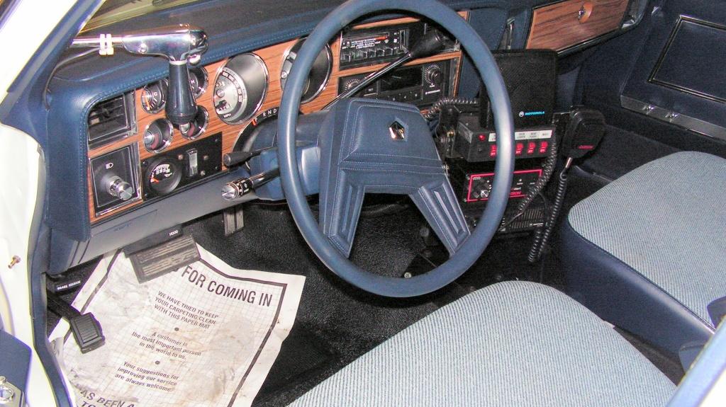 reader find classic cop cars. Black Bedroom Furniture Sets. Home Design Ideas