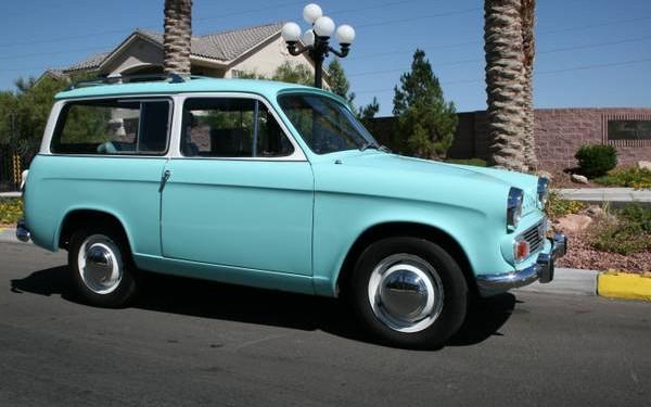 Show Car Bottom: 1966 Hillman Husky