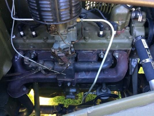 '41 Dodge WC 12 engine