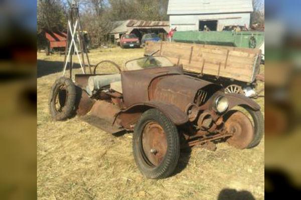 Corn Crib Find Ford Model T Speedster