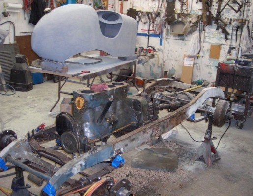 '29 Racer being restored