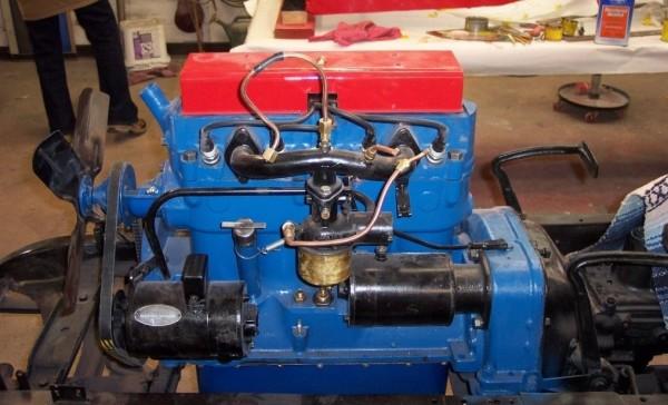 '29 Racer's engine