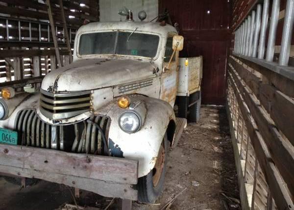 Homemade Wrecker: 1941 Chevrolet Truck