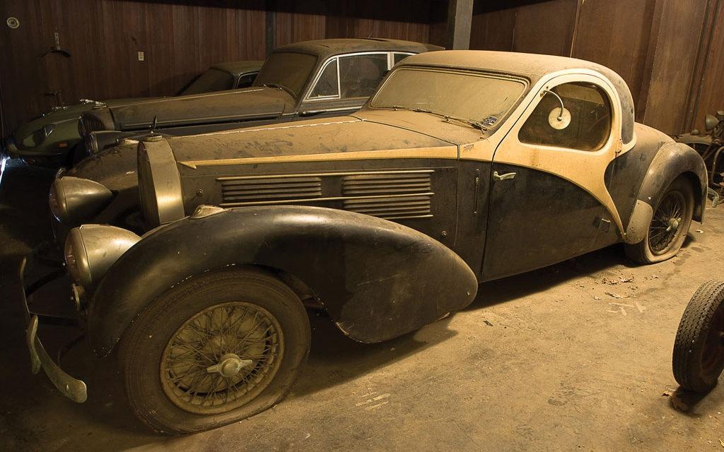 Bugatti Barn Find Resurrected!