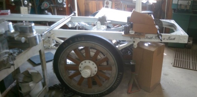1913 Ford Runabout Form A Truck
