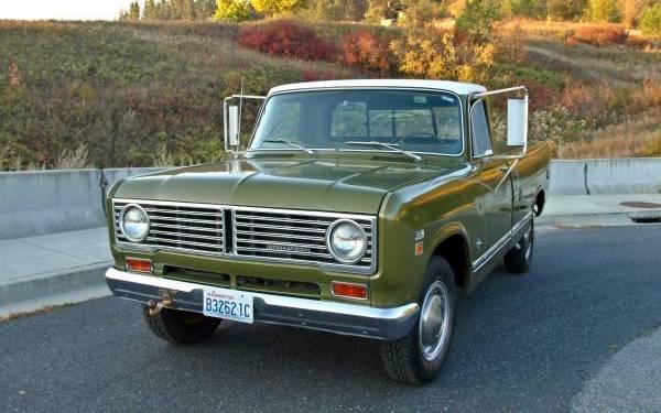 Time Warp Truck: 1973 International 1210