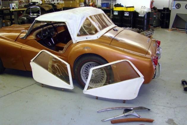 Triumph TR3 Project