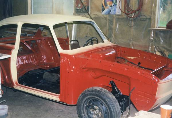 1971 Vw Type 3 Notchback Assembly Required