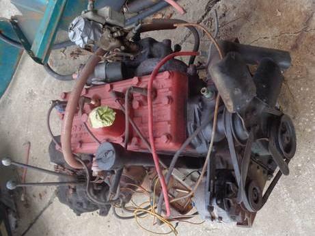 Willys Wagon Engine