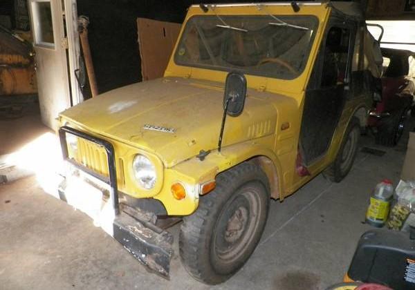 Tiny 4X4 Barn Find: 1972 Suzuki J20