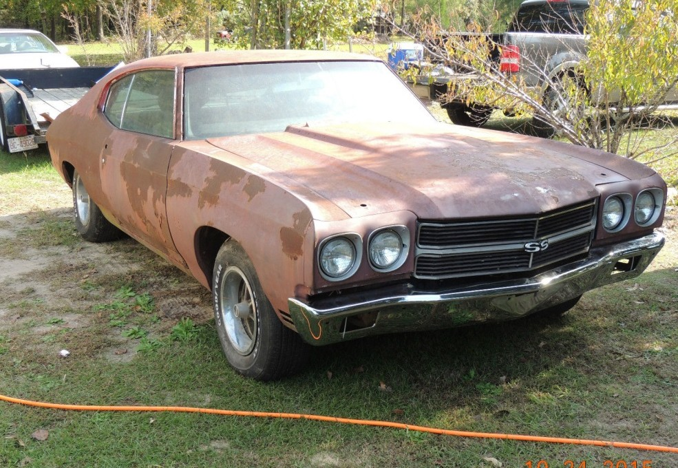 Big Block With Air 1970 Chevelle Ss