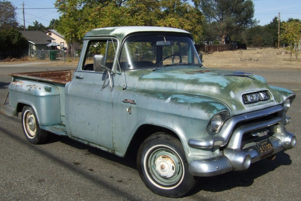 Truck With Attitude: 1956 GMC Pickup
