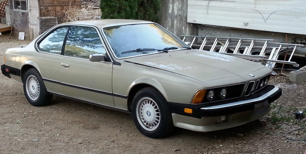 Used Bmw 5 Series For Sale >> 1984 BMW 633CSI: $650 6-Series