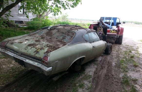 1969 Chevelle SS 396: 335 Miles From New